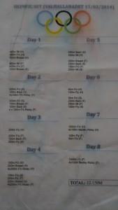 Olympics 2012 Swim Schedule